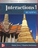 Interactions/Mosaic: Silver Edition - Interactions 1 (Low Intermediate to Intermediate) - Reading Class Audio CD, Kirn, Elaine and Hartmann, Pamela, 0073279951