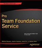 Pro Team Foundation Service, Olausson, Mathias and Rossberg, Joachim, 1430259957