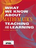 What We Know about Mathematics Teaching and Learning, Mid-continent Research for Education and Learning, 1935249959