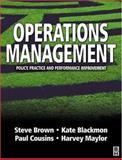 Operations Management 9780750649957