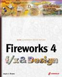 Fireworks 4.0 f/x and Design, Evans, Joyce, 1576109968