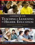 A Handbook for Teaching and Learning in Higher Education : Enhancing Academic Practice, Fry, Heather and Ketteridge, Steve, 0415709962