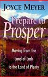 Prepare to Prosper, Joyce Meyer, 0892749962