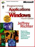 Programming Applications for Microsoft Windows, Richter, Jeffrey M., 1572319968