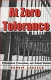 At Zero Tolerance 9780820449968