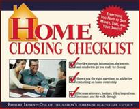 Home Closing Checklist, Irwin, Robert, 0071409971