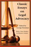 Classic Essays in Legal Advocacy, Rossman, George, 1584779977