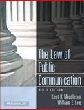 Law of Public Communication Plus MySearchLab with EText -- Access Card Package, Middleton, Kent R. and Lee, William E., 0205979971