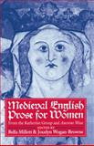 Medieval English Prose for Women : Selections from the Katherine Group and Ancrene Wisse, , 0198119976