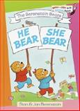 He Bear, She Bear, Stan Berenstain, Jan Berenstain, 0394829972