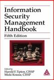 Information Security Management Handbook, Harold F. Tipton, Micki Krause, 0849319978