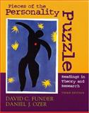 Pieces of the Personality Puzzle : Readings in Theory and Research, Funder, David Charles and Ozer, Daniel J., 0393979970