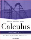 Multivariable Calculus, McCallum, William G. and Hughes-Hallett, Deborah, 0471659983