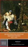 Seventeenth-Century British Poetry, 1603-1660, , 0393979989