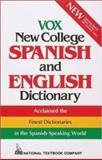 Vox New College Spanish-English Dictionary, Vox Staff, 0844279986
