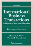 International Business Transactions, 3rd Edition Document Supplement 3rd Edition