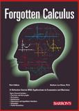 Forgotten Calculus, Barbara Lee Bleau, 0764119982