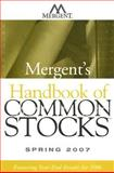 Mergent's Handbook of Common Stocks, Inc. Mergent, 0470119993