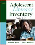 Adolescent Literacy Inventory, Brozo, William G. and Afflerbach, Peter P., 0205569994
