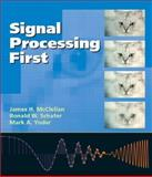 Signal Processing First, McClellan, James H. and Schafer, Ronald W., 0130909998