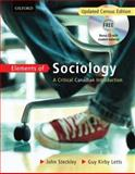 Elements of Sociology : A Critical Canadian Intro, , 0195429990