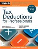 Tax Deductions for Professionals, J.D., Stephen Fishman, 1413319998