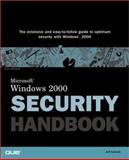 Windows 2000 Security Handbook, Schmidt, Jeff, 0789719991