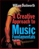 A Creative Approach to Music Fundamentals, Auth and Duckworth, William, 0840029993