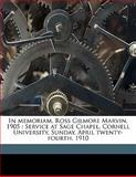 In Memoriam, Ross Gilmore Marvin 1905, Robert E. 1856-1920 Peary, 1145639992