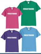 """Image for the """"SWARTHMORE"""" Spring Colors Tee Shirt product"""