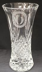 """Image for the UMMC Cut Crystal Vase 9.25"""" product"""