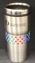 Image for the UMMC Imprinted Polka Dot Tumbler product
