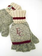 Image for the Work Sock Flip Mitt, Burgundy product