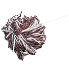 Image for the SIU MAROON AND WHITE SPIRIT POM POMS product