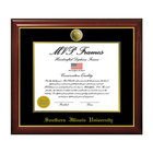 Image for the MVP® SIU Frame Cherry Gloss Gold Medallion product