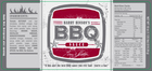 Image for the BARRY HINSON BBQ SAUCE product
