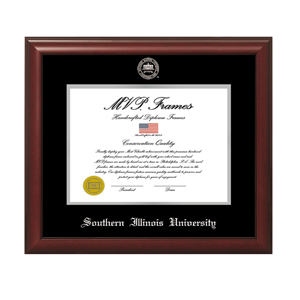 Image for the MVP® SIU Cherry Frame Satin Silver Embossed product