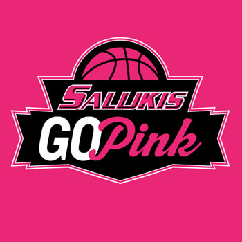 Alternative Image for the SIU SALUKIS PINK OUT T-SHIRTS product
