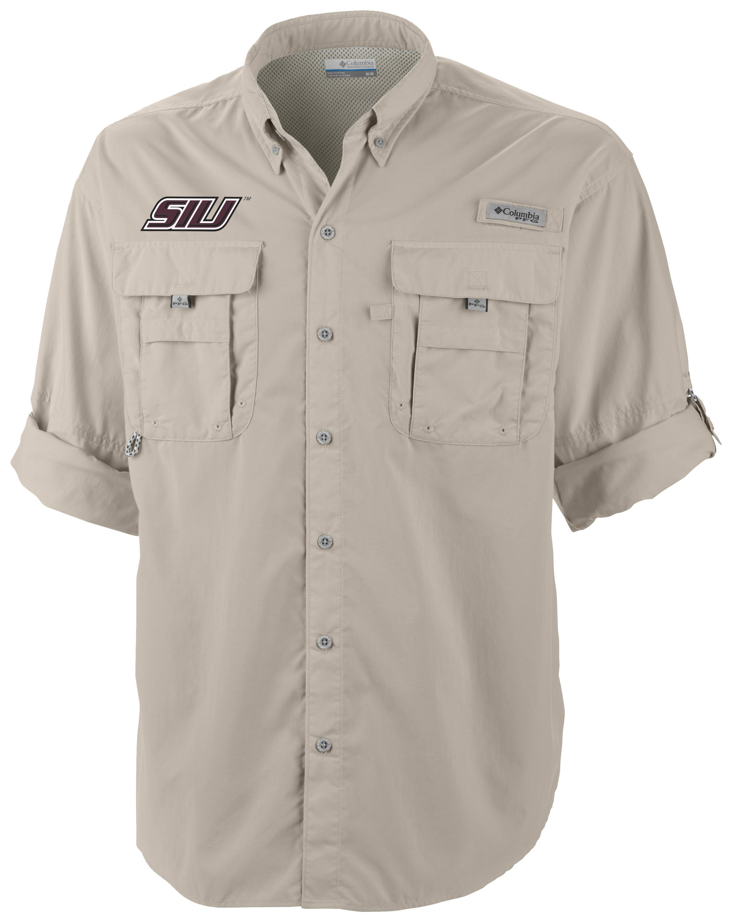 Image for the COLUMBIA® BAHAMA™ II SIU KHAKI LONG SLEEVE PFG SHIRT product