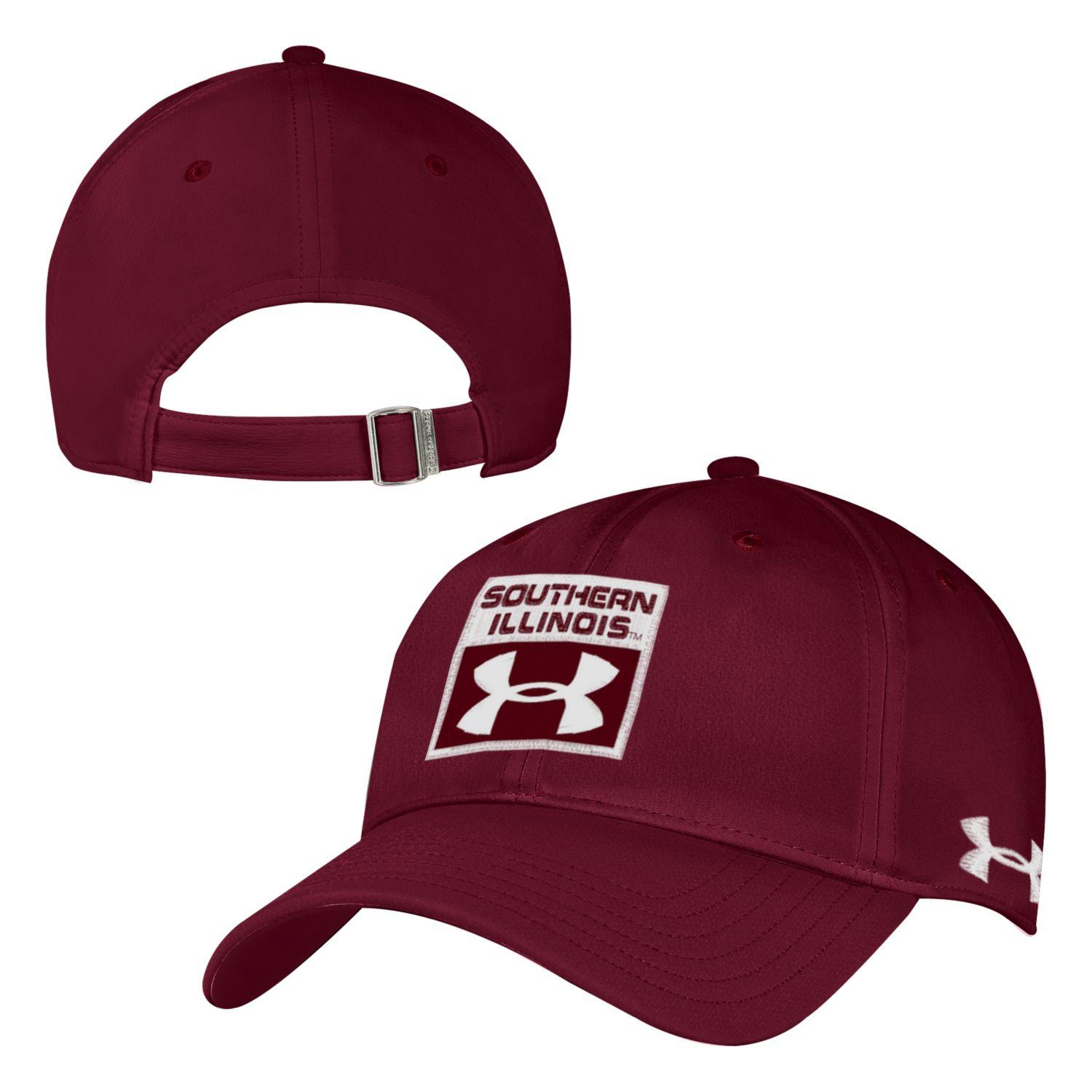 Image for the UA® SOUTHERN ILLINOIS MAROON RENEGADE ADJUSTABLE CAP product