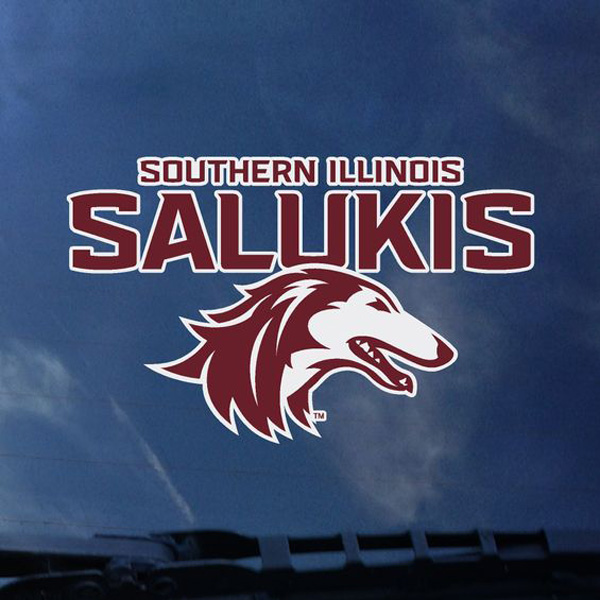 Image for the NEW 2019 ATHLETIC LOGO SOUTHERN ILLINOIS SALUKIS DECAL product