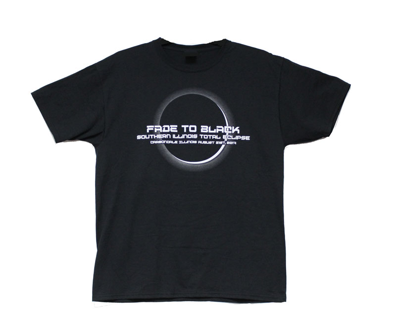 Image for the 710 BRANDED ECLIPSE FADE TO BLACK SHORT SLEEVE T-SHIRT product