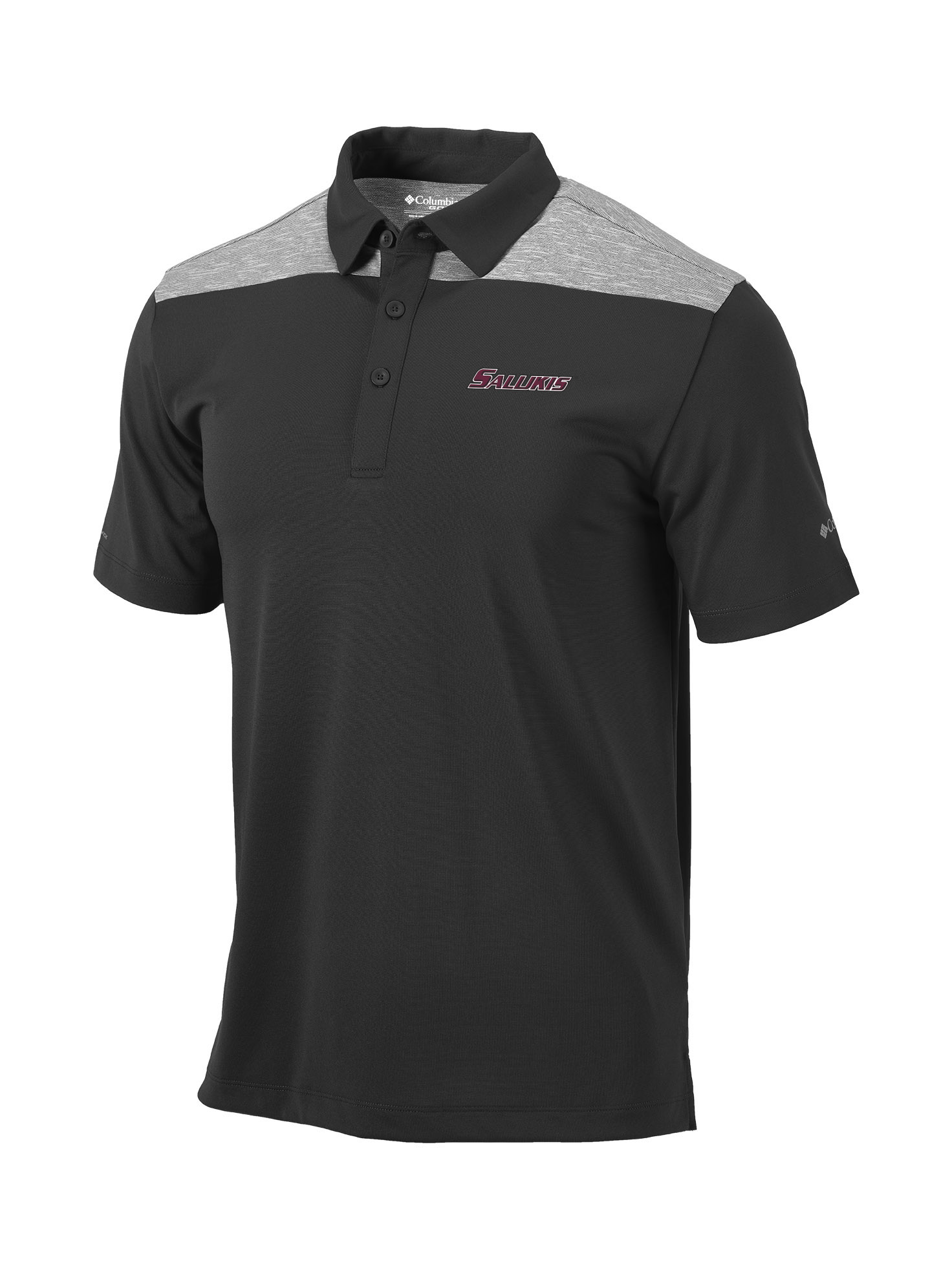 Image for the COLUMBIA® SALUKIS DUAL COLORED FORGED IRON OMNI-WICK UTILITY POLO product