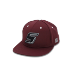 Image for the THE GAME® SIU BASEBALL TEAM REPLICA HAT - BLACK OR MAROON product