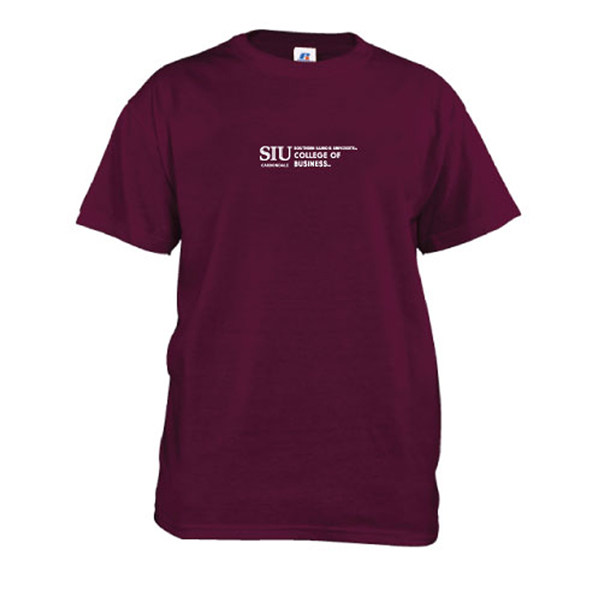 Image for the RUSSELL® SIU COLLEGE OF BUSINESS MAROON T-SHIRT product