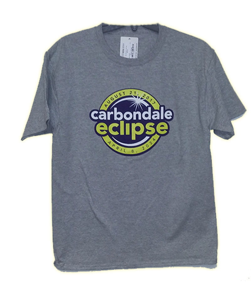 Image for the 2017/2024 CARBONDALE ECLIPSE T-SHIRT product
