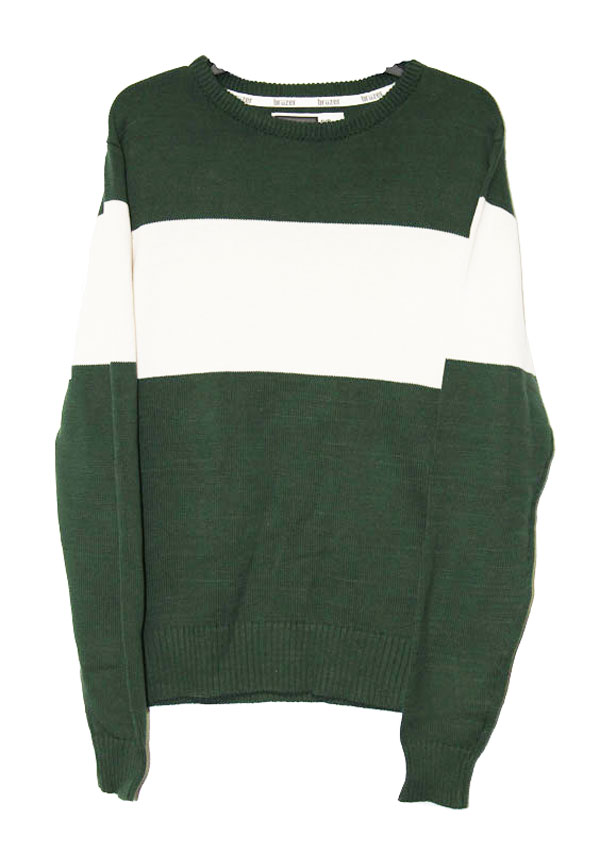 Image for the GREEN BRUZER BAR DOWN SWEATER product
