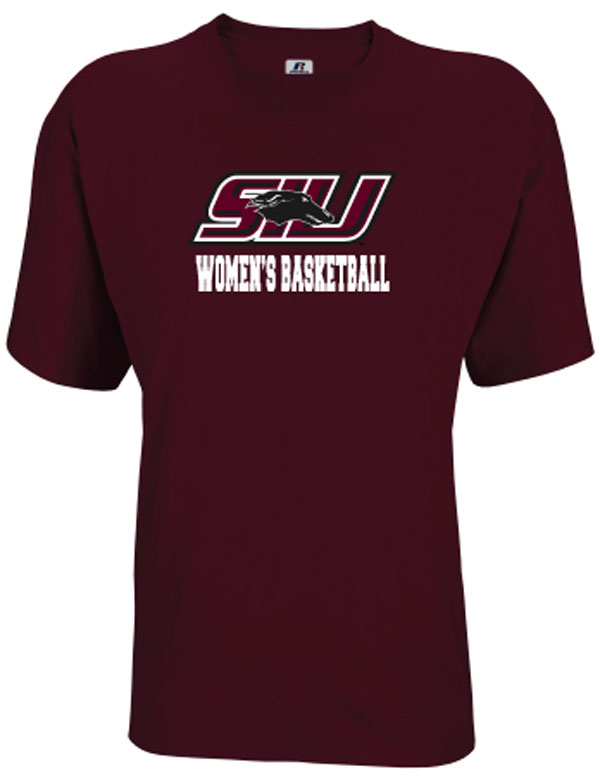 Image for the RUSSELL® SIU SPORT WOMEN'S BASKETBALL T product