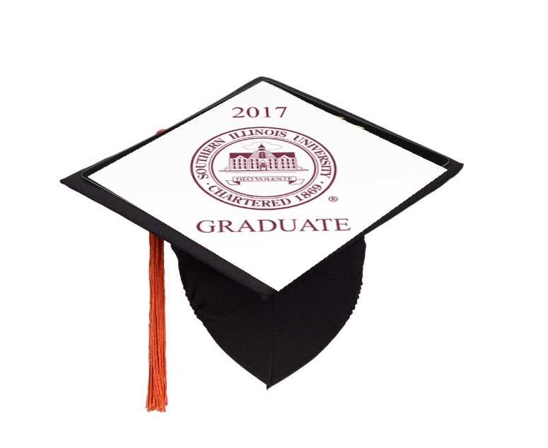 Image for the SOUTHERN ILLINOIS UNIVERSITY SEAL GRADUATION CAP TOPPER product