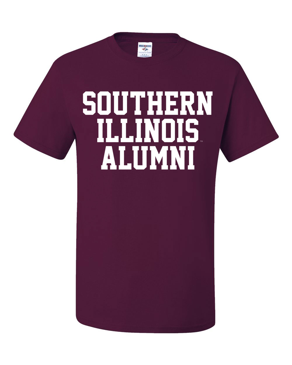 Image for the 710 BRANDED® BLOCK SOUTHERN ILLINOIS ALUMNI T-SHIRT product